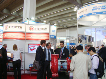 Richter Success At Achema 2012